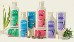 Jason Organic Conditioner hair aloe vera biotin jojoba  tea tree Dandruff