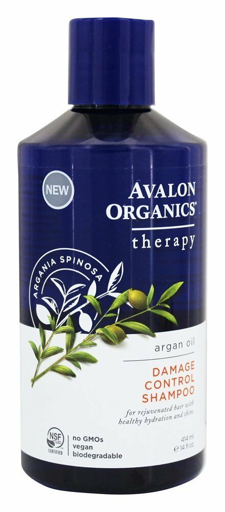 Avalon Organics Argan Oil Damage Control Shampoo 14oz