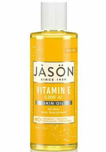 Jason pure natural skin oil VITAMIN E 5000 IU body nourishment stretchmarks