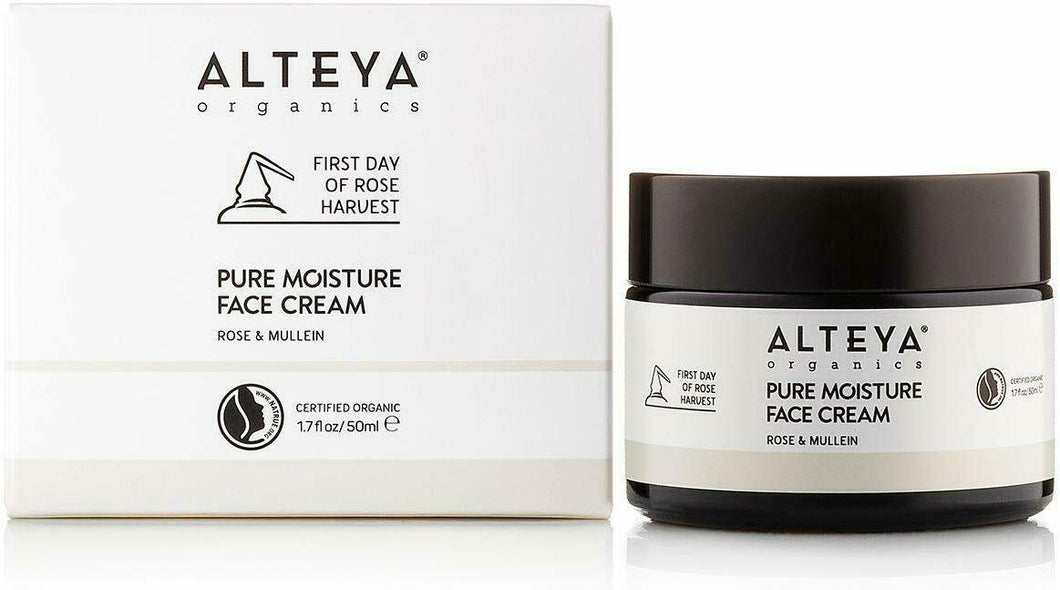 Alteya Organic Pure Moisture Face Cream Rose & Mullein 50 ml