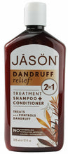 Load image into Gallery viewer, Jason  2 in 1-Dandruff Relief Shampoo & Conditioner 360ml - Paraben Free