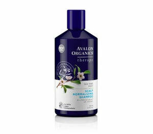 Avalon Organics Scalp  Normalising Shampoo & Conditioner Tea Tree Mint itchy dry