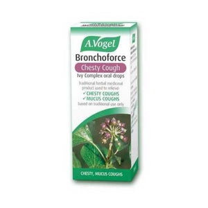 A. Vogel Bronchoforce Chesty Cough Ivy Complex Oral Drops 15ml