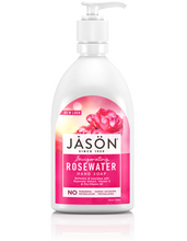 Load image into Gallery viewer, Jason Pure Natural Hand Soap Calming Lavender Rosewater Soothing Aloe vera 473ml