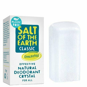 SALT OF THE EARTH PLASTIC FREE NATURAL DEODORANT CRYSTAL 75g Vegan Plastic Free