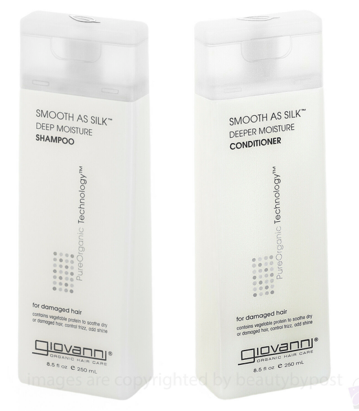 Giovanni, Smooth as Silk Conditioner Shampoo Set