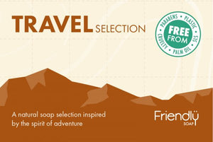 Friendly Soap Travel Selection gift box
