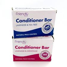 Friendly Soap Conditioner Bars Natural Vegan Plastic Free