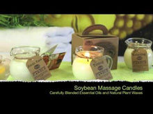 Load and play video in Gallery viewer, Sensual Soybean Massage Candle