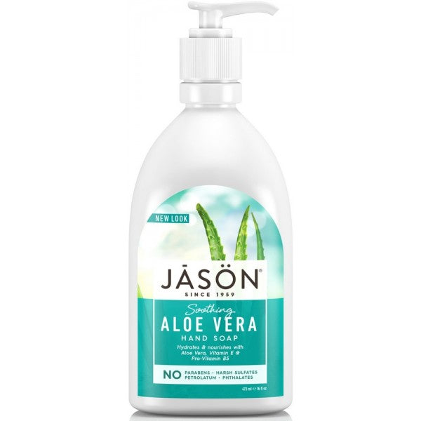 Jason Pure Natural Hand Soap Calming Lavender Rosewater Soothing Aloe vera 473ml