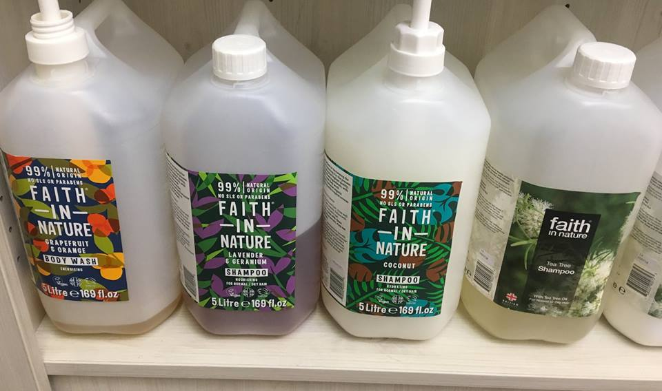 Faith in Nature Body Wash Refills (as needed in 100g quantities)