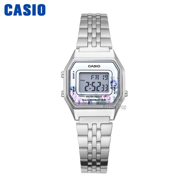 Casio watch gold women watches set brand luxury Waterproof Quartz watch women LED digital Sport ladies watch relogio feminino 68