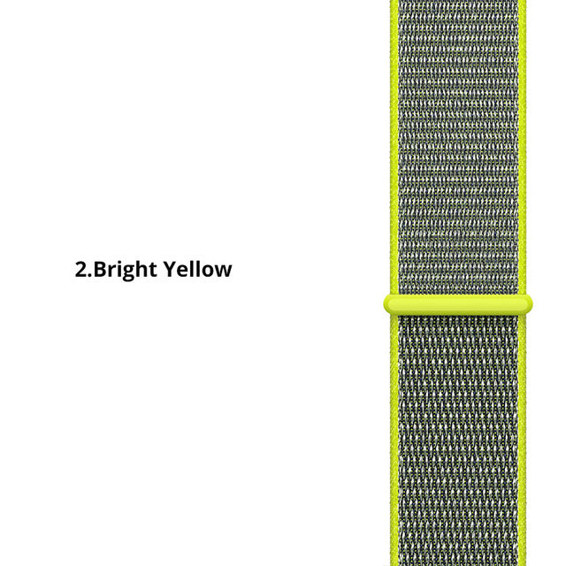 22 20mm  Nylon Watch Strap For Samsung Galaxy 42/46mm Gear S3/sport/S2 Classic Watchband nylon Sport Loop Band