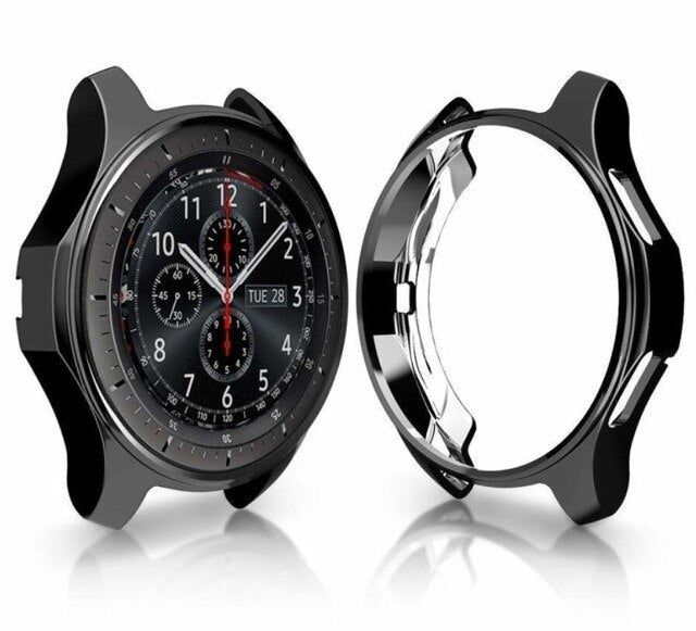 Protective Soft TPU Case Cover For galaxy watch 46mm 42mm Cover Shell for Samsung Gear S3 Frontier Protective Bumper Shell