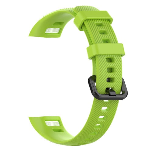 silicone sport strap watch band For Huawei Honor 4/5 smart watch Pedometer Replacement sports Fitness Bracelet strap Accessories