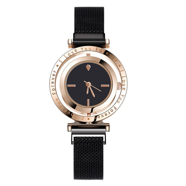WJ-8911 Luxury Women Watches Magnetic Female Clock relogio feminino Quartz Wristwatch Fashion Ladies Wrist Watch reloj mujer