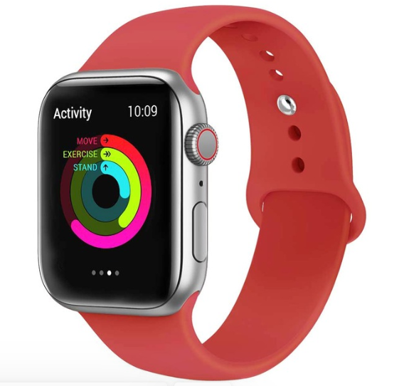 Band for Apple Watch 5 4 3 2 1 42MM 38MM 24 Colors soft rubber strap Silicone Sports  bands for Iwatch 5 4 3 40mm 44mm