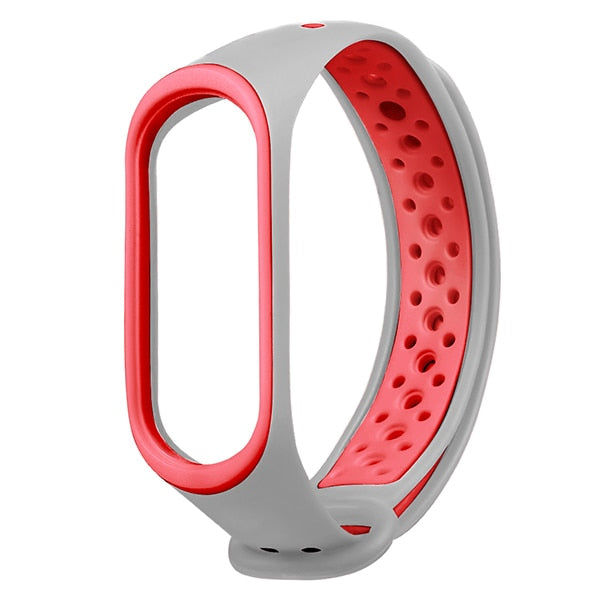 MI 3 watch band Wristband Strap for Xiaomi MI band 3 watchband Bracelet Replacement silicone sport  straps smart Accessories