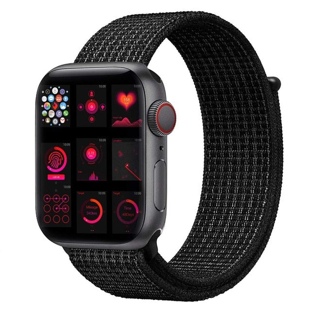 strap For Apple Watch Series 5 4 40mm 44mm Bracelet Nylon Wristband Sport Loop band iwatch series 3/2/1 38mm 42mm Accessories