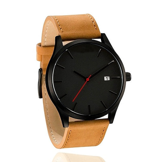 Top Luxury Brand Men Watches Men's Sports Quartz Clock Man Leather Army Military Wrist Watches Relogio Masculino erkek kol saati