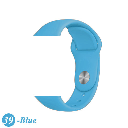 Strap For Apple Watch band 38mm 42mm iWatch 4 band 44mm 40mm Sport Silicone soft Bracelet correa Apple watch 5 4 3 2 Accessories