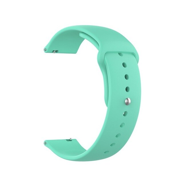 18mm 20mm 22mm Silicone Watchband for Samsung Galaxy Watch 42mm 46mm Active2 40mm 44mm Gear S2 S3 Strap Band Bracelet Active 2