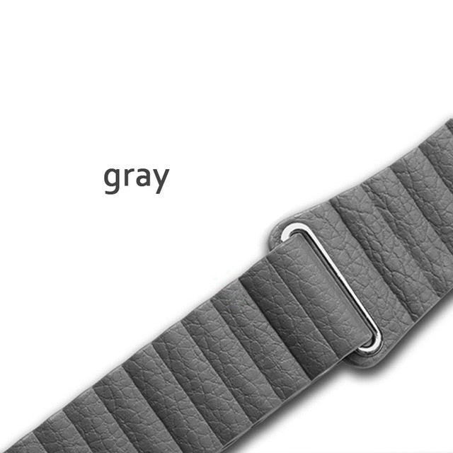 Leather loop strap for apple watch band 44 mm 40mm iwatch band 42mm 38mm Genuine Leathe watchband bracelet apple watch 5 4 3 2 1