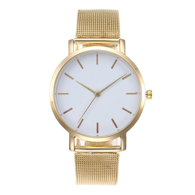 2019 Ultra-thin Rose Gold Watch Minimalist Mesh Women Watch montre femme  Watches Zegarek Damski Watch  Relojes Para Mujer Reloj