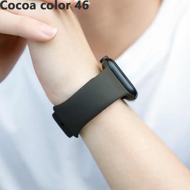 Strap For Apple Watch Band Correa iwatch 42mm 38mm 40mm bracelet Silicone Watchband Accessories 4 3 2 1 apple watch 5 band 44mm