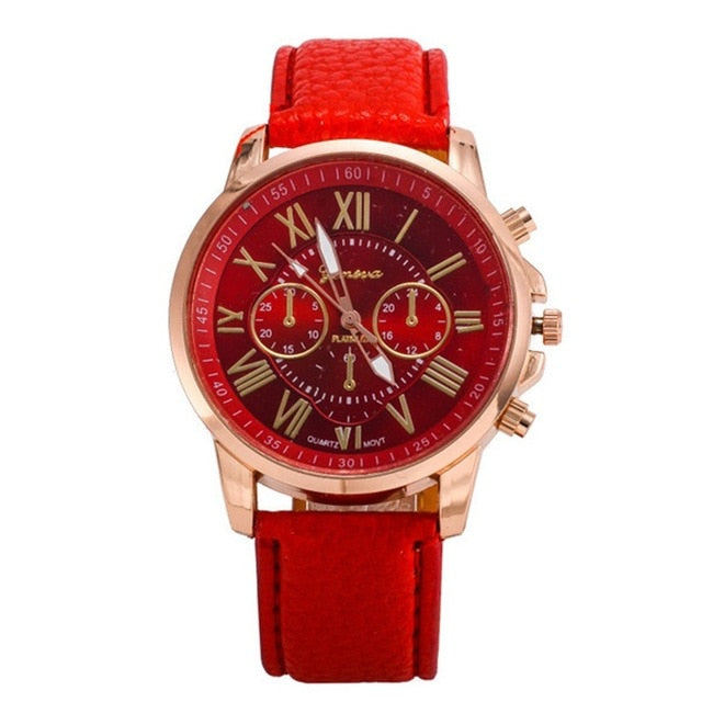 Luxury Watch Automatic Mechanical Genuine Leather Wristband Business Man Wrist Watch Needle Precise Time