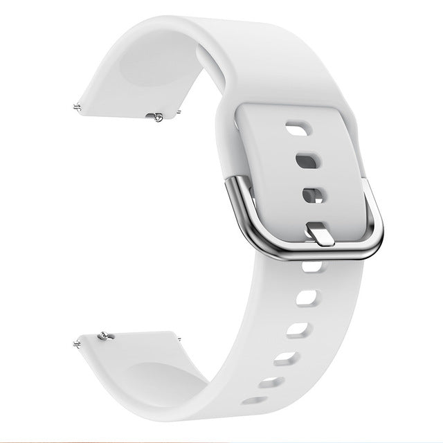 Bracelet for Samsung Galaxy Watch Active 1 Band Silicone Wristband for Samsung Watch Active 2 Straps 40mm 44mm Watch Strap 20mm