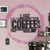 Coffee Metal Decor | Decoraline
