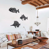 Fishbones Metal Decor | Decoraline