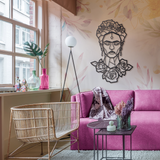 Frida Metal Decor | Decoraline