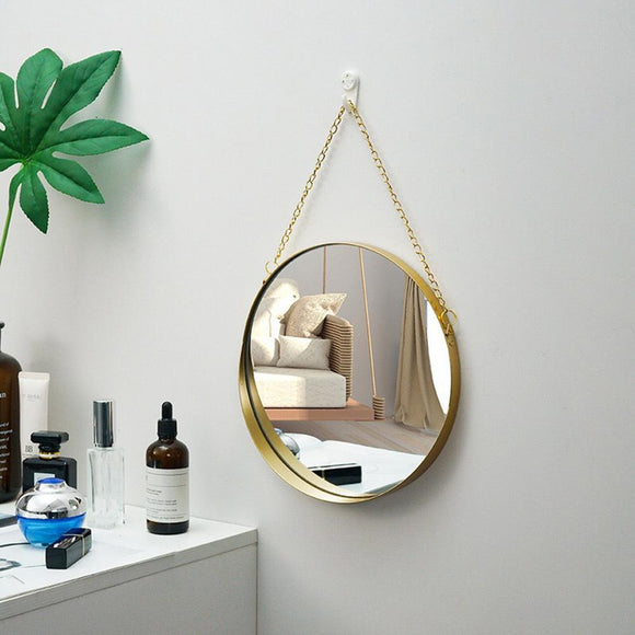 Aaren Round Mirror | Decoraline