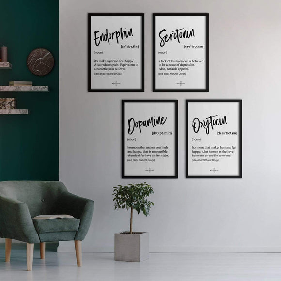 Happiness Poster Set | Decoraline