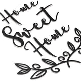Home Sweet Home Metal Decor | Decoraline