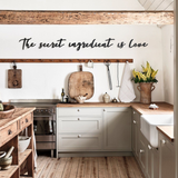 The Secret Ingredient Metal Lettering | Decoraline