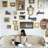 This Is Our Happy Place Metal Decor | Decoraline
