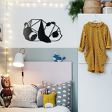 Panda Metal Decor | Decoraline