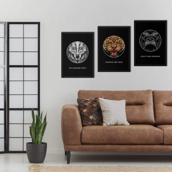 Animal Spirits Poster Set | Decoraline