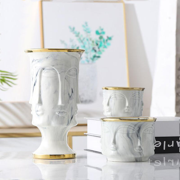 Astrid Ceramic Vase | Decoraline