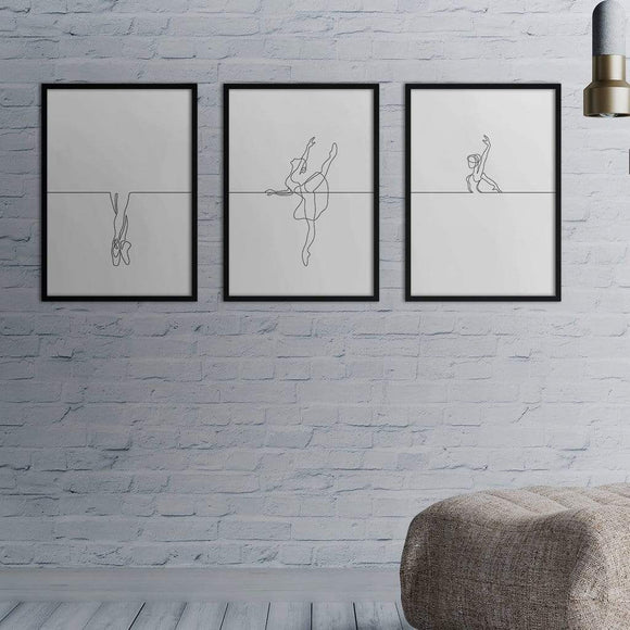 Ballerina Poster Set | Decoraline