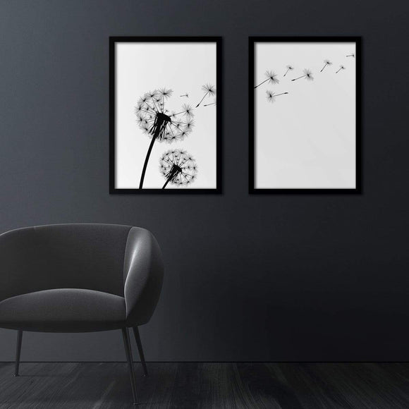 Dandelion Poster Set | Decoraline