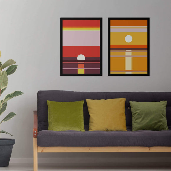 Horizon Poster Set | Decoraline
