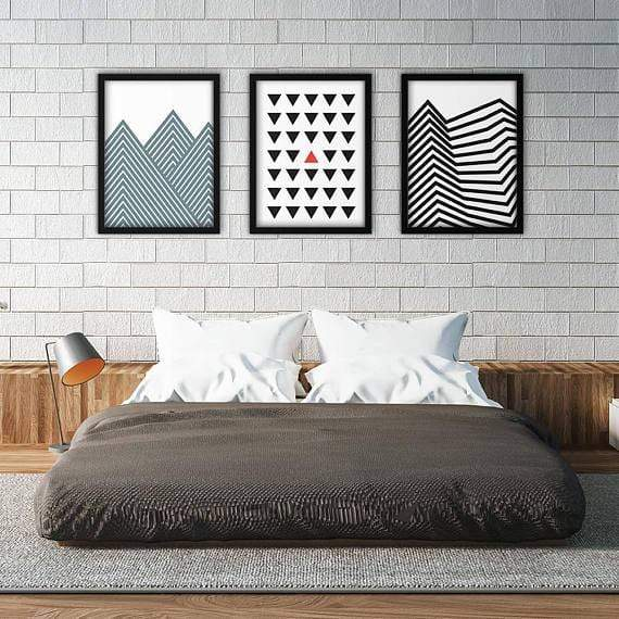 Geo Art Poster Set | Decoraline
