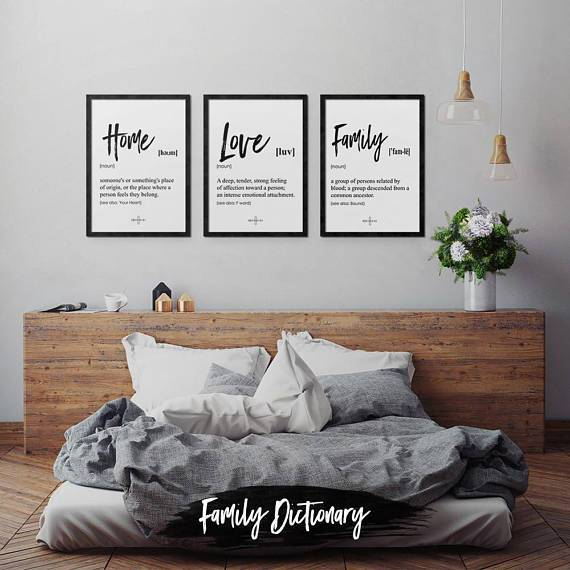 Family Poster Set | Decoraline