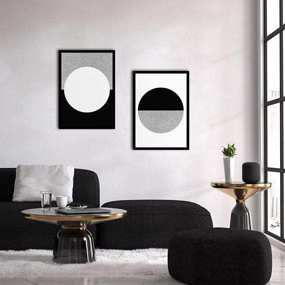 Circle Poster Set | Decoraline