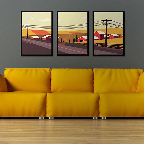 Landscape Poster Set | Decoraline