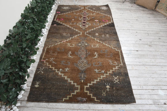 Grizzle Vintage Turkish Rug | Decoraline
